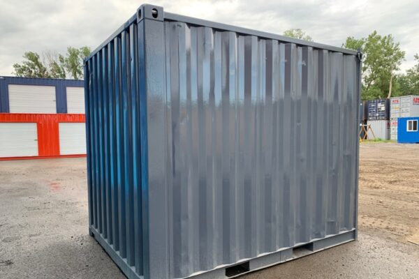 10′ USED CONTAINER WITH ROLLUP DOOR